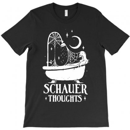 Schauer Thoughts T-shirt Designed By Colorfull Art