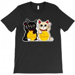 lucky rescue cats T-Shirt | Artistshot