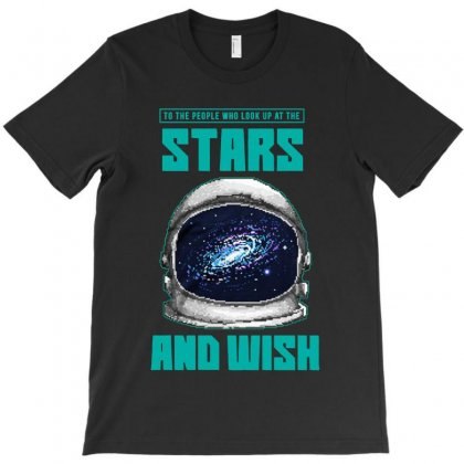 Wish Of The Stars T-shirt Designed By Colorfull Art