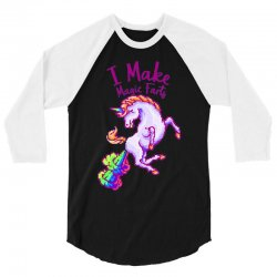 i make magic farts 3/4 Sleeve Shirt | Artistshot