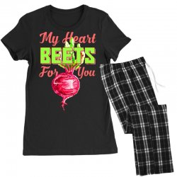 my heart beets for you food puns Women's Pajamas Set   Artistshot