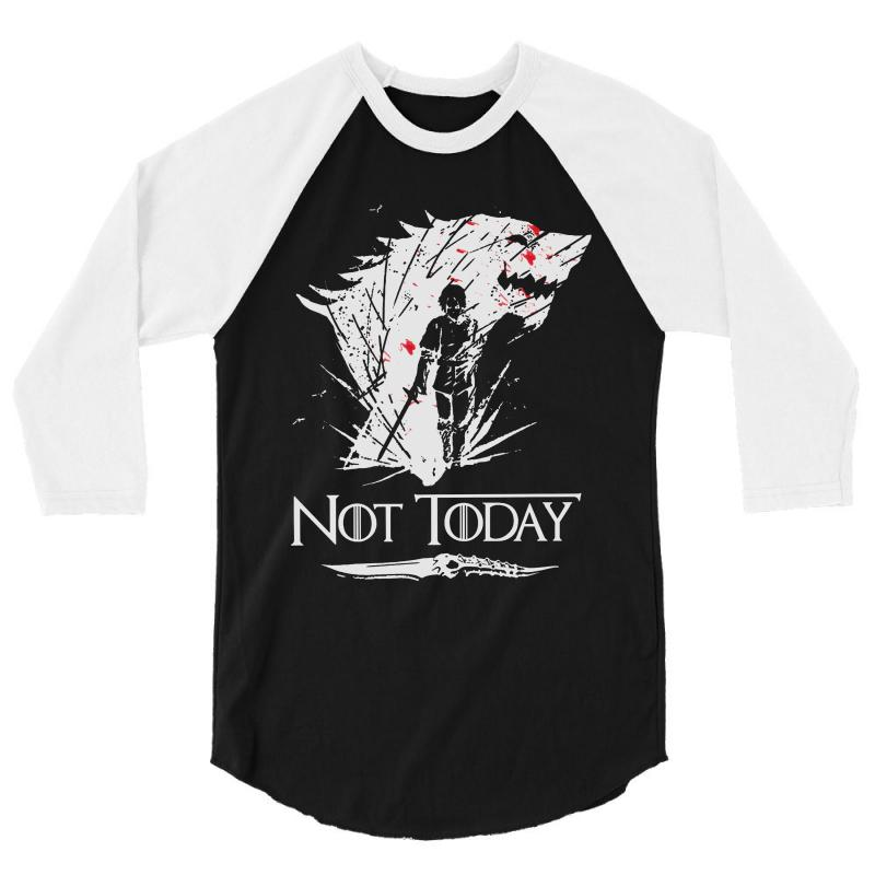 Not Today 3/4 Sleeve Shirt | Artistshot