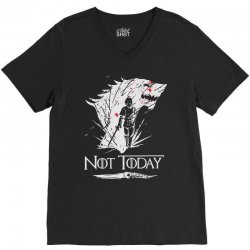 not today V-Neck Tee | Artistshot