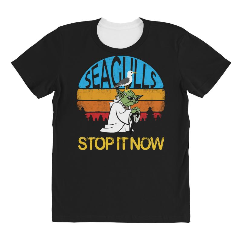Retro Vintage Seagulls Stop It Now All Over Women's T-shirt | Artistshot