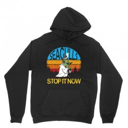 retro vintage seagulls stop it now Unisex Hoodie | Artistshot