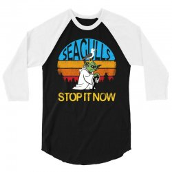 retro vintage seagulls stop it now 3/4 Sleeve Shirt | Artistshot