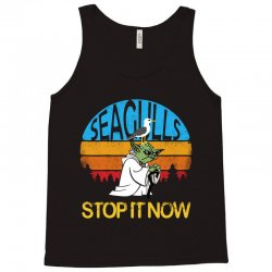 retro vintage seagulls stop it now Tank Top | Artistshot