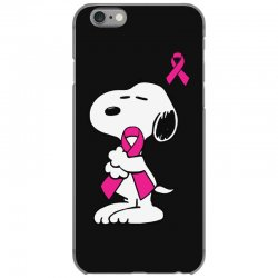 snoopy   support breast cancer iPhone 6/6s Case | Artistshot