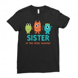 sister monster Ladies Fitted T-Shirt | Artistshot