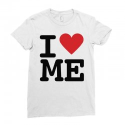i heart Ladies Fitted T-Shirt | Artistshot