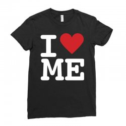 i heart me Ladies Fitted T-Shirt | Artistshot