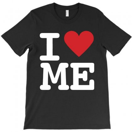 I Heart Me T-shirt Designed By Colorfull Art