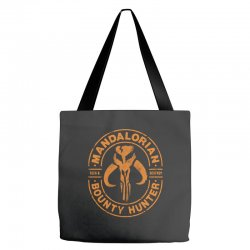 the mandalorian   bounty hunter faded Tote Bags | Artistshot