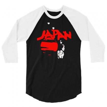 Japan Adolescent Sex 3/4 Sleeve Shirt Designed By Erni