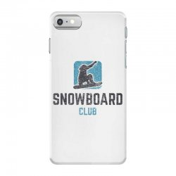 Snowboard iPhone 7 Case | Artistshot