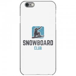 Snowboard iPhone 6/6s Case | Artistshot