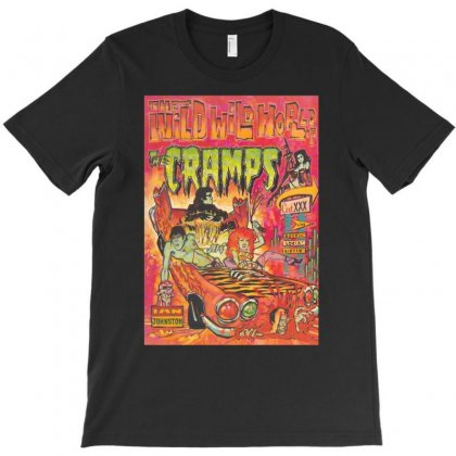 The Cramps Wild Wild World Of The Cramps T-shirt Designed By Erni