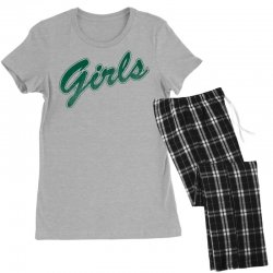 girls green rachel friends Women's Pajamas Set | Artistshot