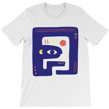 Abstract T-shirt Designed By Komodo Dragon