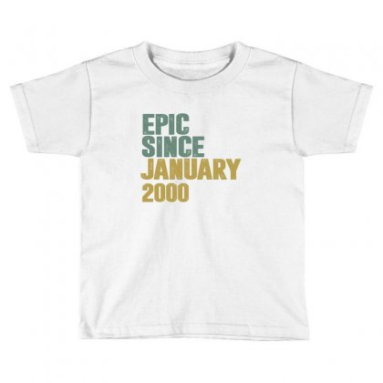 January 2000 Toddler T-shirt Designed By Chris Ceconello
