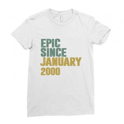 January 2000 Ladies Fitted T-shirt Designed By Chris Ceconello