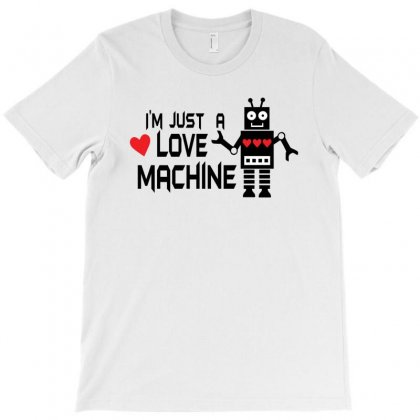 Love Machine Robot T-shirt Designed By Ursulart