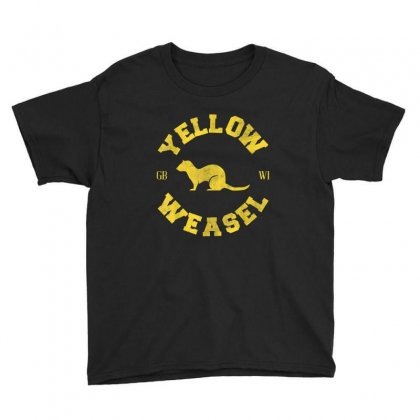 Yellow Weasel Youth Tee Designed By Kakashop