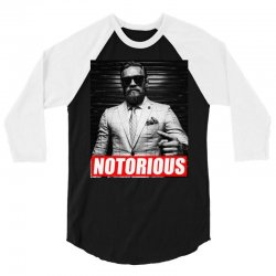 conor a notorious 3/4 Sleeve Shirt | Artistshot