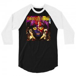 david lee roth eat ` Èm smile 3/4 Sleeve Shirt | Artistshot