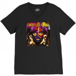 david lee roth eat ` Èm smile V-Neck Tee | Artistshot
