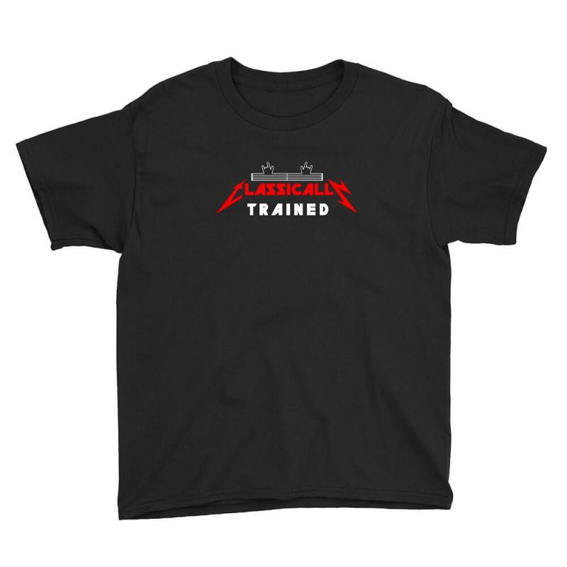Classically Trained Youth Tee | Artistshot