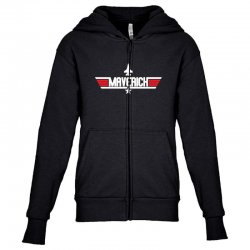 maverick Youth Zipper Hoodie | Artistshot