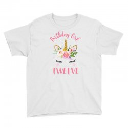 12th birthday unicorn shirts for girls Youth Tee | Artistshot