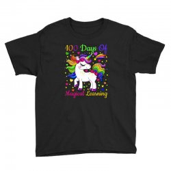 Adorable 100th day of school unicorn magical learning tshirt Youth Tee | Artistshot