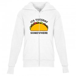 taco tuesday Youth Zipper Hoodie | Artistshot