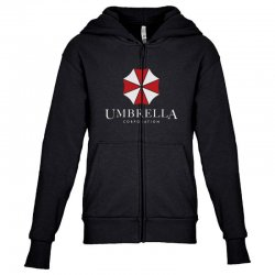 umbrella coporation Youth Zipper Hoodie | Artistshot