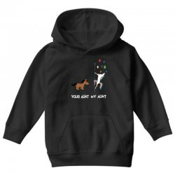 funny aunt shirts your aunt my aunt cute unicorn t shirt Youth Hoodie | Artistshot