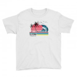 california the perfect wave for light Youth Tee | Artistshot