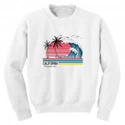 california the perfect wave for light Youth Sweatshirt | Artistshot