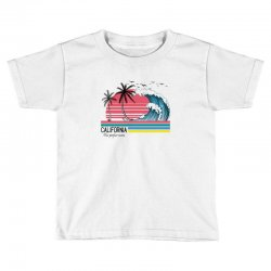 california the perfect wave for light Toddler T-shirt | Artistshot