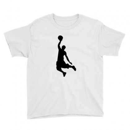 Basketball Player Youth Tee Designed By Acoy