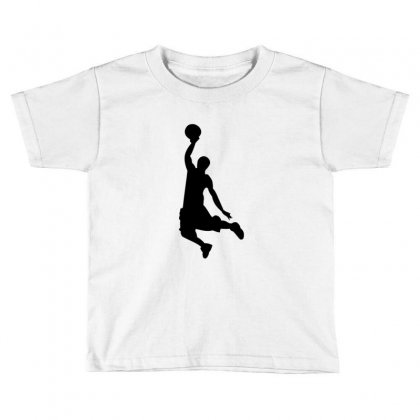 Basketball Player Toddler T-shirt Designed By Acoy