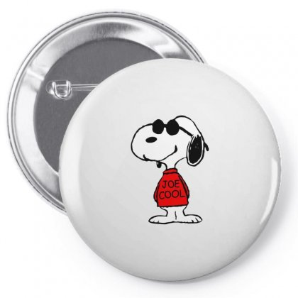 Snoopy Joe Cool Glasses Pin-back Button Designed By Roxanne