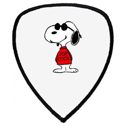 Snoopy Joe Cool Glasses Shield S Patch Designed By Roxanne