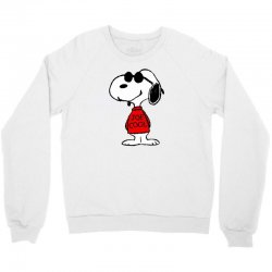 Snoopy joe cool glasses Crewneck Sweatshirt | Artistshot