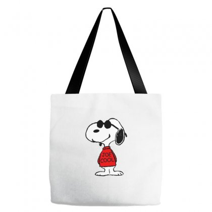 Snoopy Joe Cool Glasses Tote Bags Designed By Roxanne