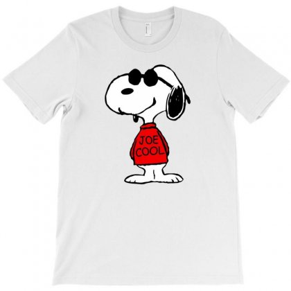 Snoopy Joe Cool Glasses T-shirt Designed By Roxanne