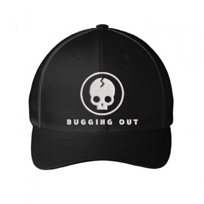 Bugging Out Embroidered Mesh Cap Designed By Madhatter
