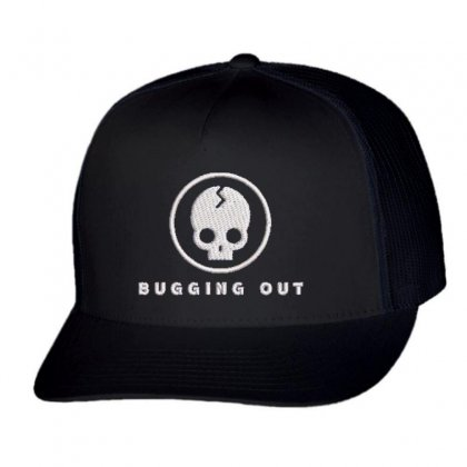 Bugging Out Trucker Cap Designed By Madhatter