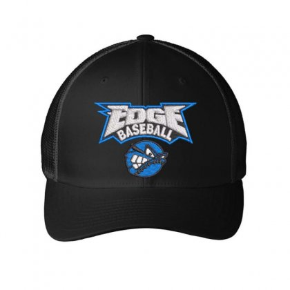 Edge Baseball Embroidered Mesh Cap Designed By Madhatter